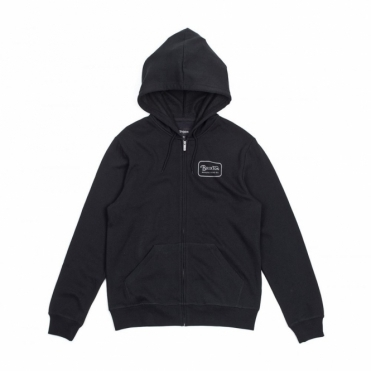 Brixton Grade Hooded Sweater Black