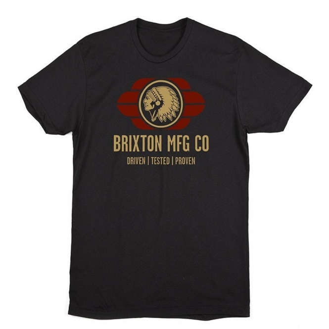 Brixton Nassau Tee Black
