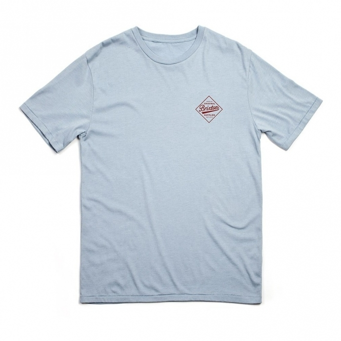 Brixton Wesson Tee Heather Grey