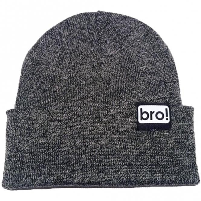 Bro! Beanie - Charcoal Grey