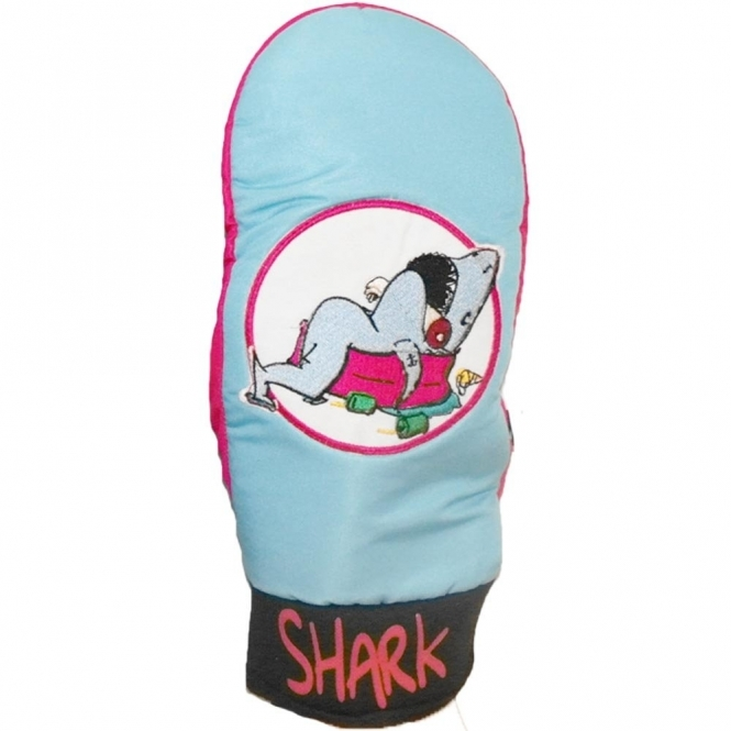 Bro! Party Shark Snowboard Mitts