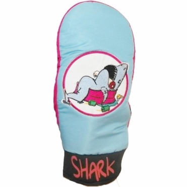 Party Shark Snowboard Mitts