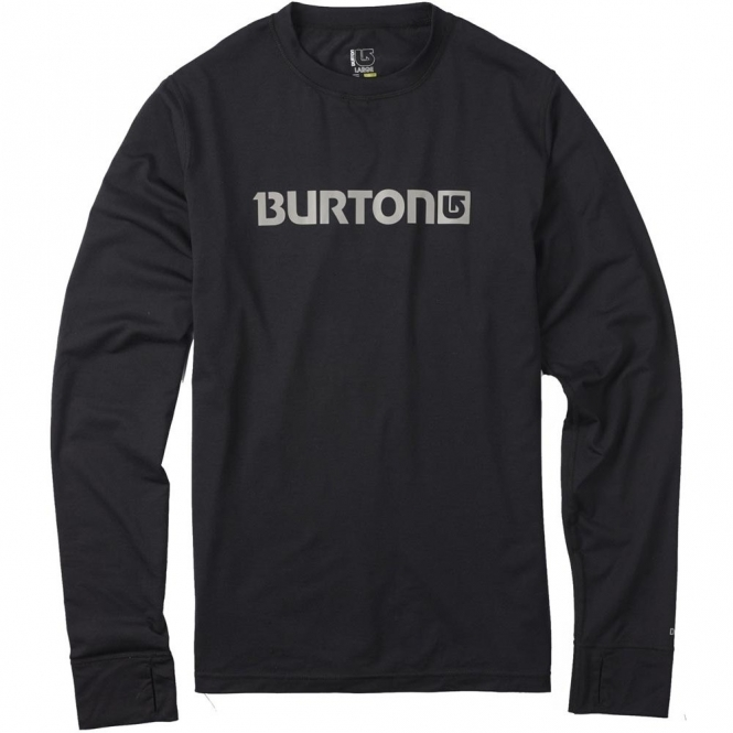 Burton Base Layer Midweight Crew - Black