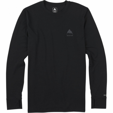 Burton Base Layer Midweight Crew - True Black