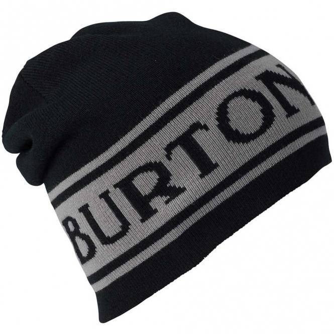 Burton Billboard Beanie Reversible True Black / Iron Grey