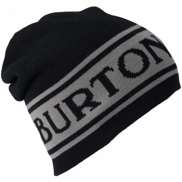 Burton Billboard Beanie Reversible True Black / Iron Grey