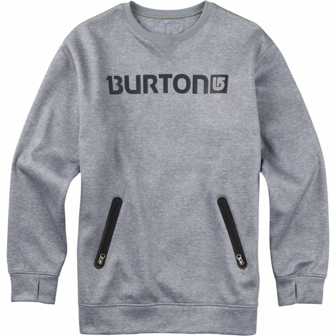 Burton Bonded Crew -  High Rise Heather