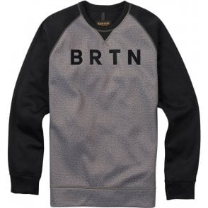 Burton Bonded Crew -  Monument Heather