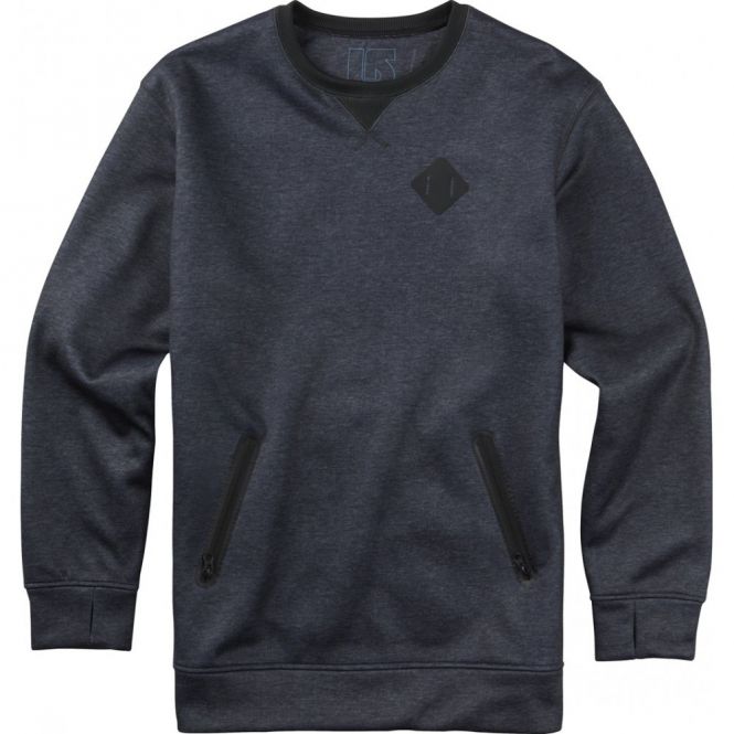 Burton Bonded Crew -  True Black Heather