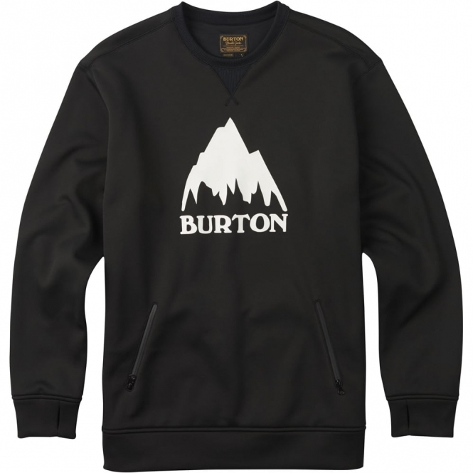 Burton Bonded Crew -  True Black