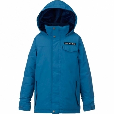 Boys Amped Jacket - Glacier Blue