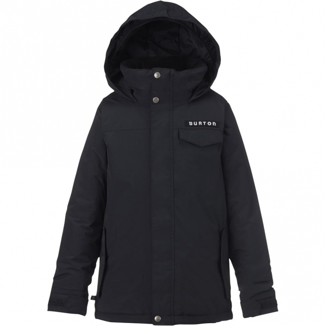 Burton Boys Amped Jacket - True Black