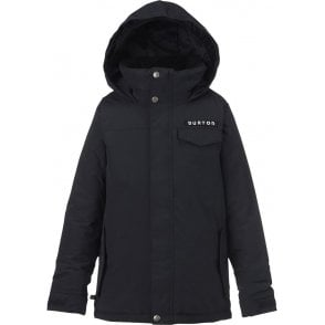 Boys Amped Jacket - True Black
