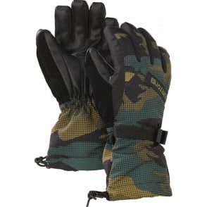 Boys Glove Black Hickory Pop Camo