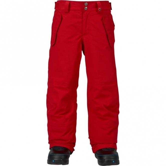 Burton Boys Parkway Snowboard Pant - Process Red