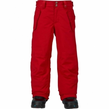 Boys Parkway Snowboard Pant - Process Red