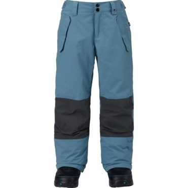 Boys Parkway Snowboard Pants - Bluestone/Faded