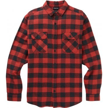 Burton Brighton Flannel Shirt - Tandori Heather Buffalo