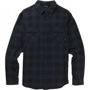 Burton Brighton Flannel Shirt - True Black Heather Buffalo