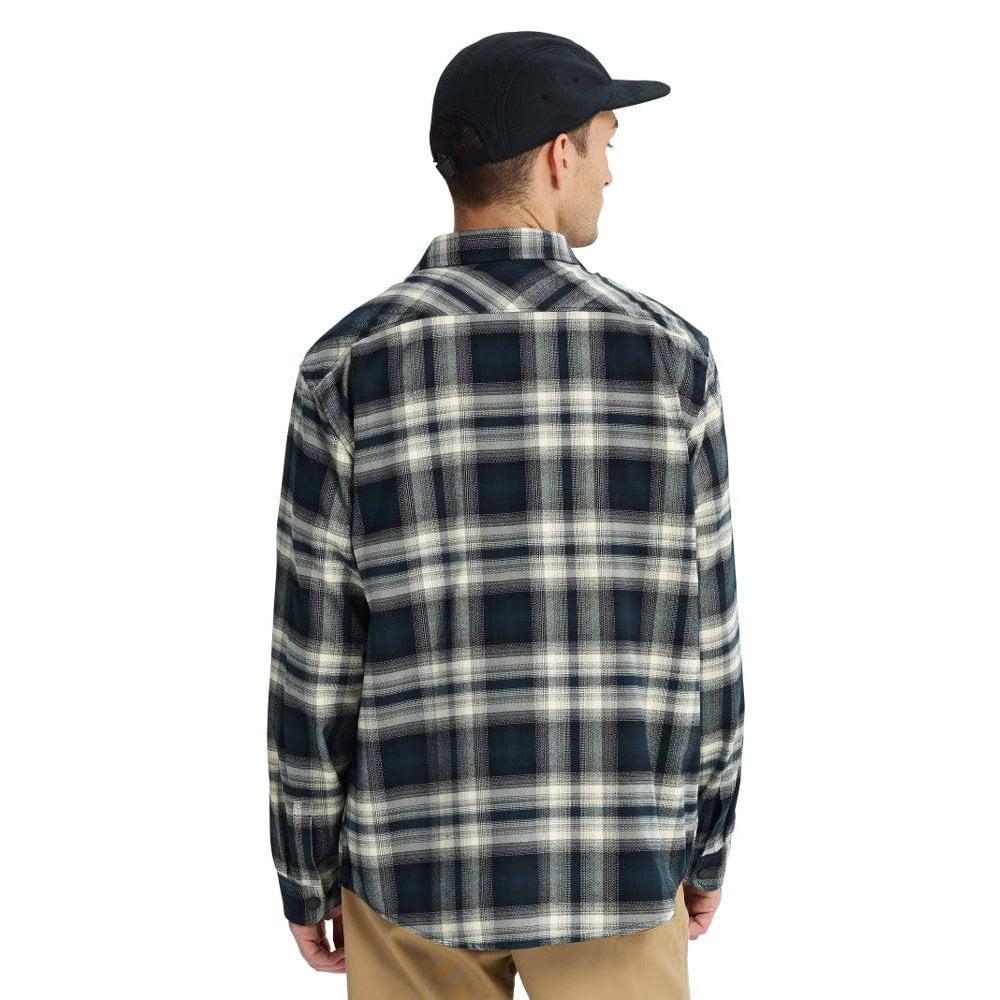 d51a5c6f8cd Burton Brighton Tech Flannel Shirt - True Black Lahombre