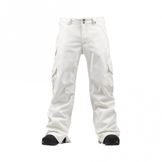 white cargo pants burton cargo snowboard available at 28642