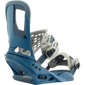 Cartel Snowboard Bindings Blue Steel 2017