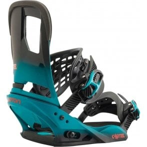 Cartel Snowboard Bindings Teal Fade 2017
