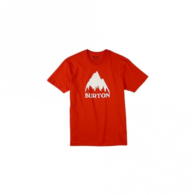 Burton Classic Mountain T-Shirt - Fiery Red