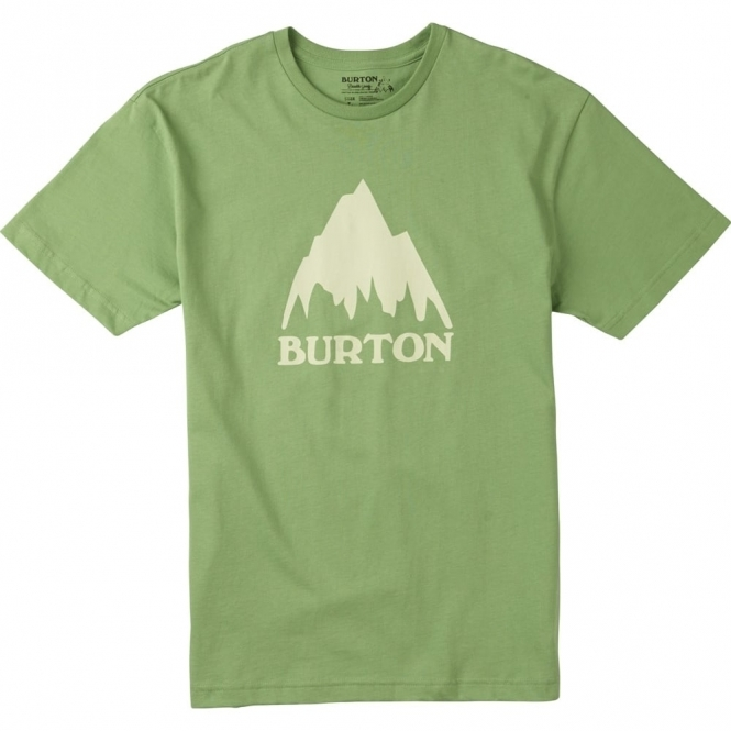 Burton Classic Mountain Tee - Green Tea