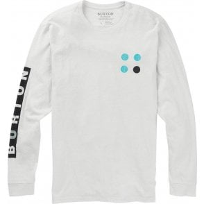 Burton Custom LS Tee - Stout White