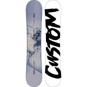 Custom Twin Flying V Snowboard 156