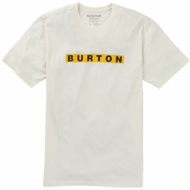 Burton Deep Thinker Tee - Stout White