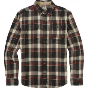 Burton Flannel Shirt - True Black Impulse