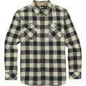 Burton Flannel Shirt - Vanilla Heather Buffalo