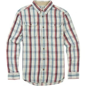 Flannel Shirt - Vanilla Utica Plaid