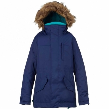 Burton Girls Aubrey Parka Jacket - Spellbound