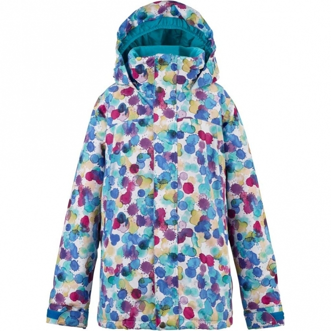 Burton Girls Elodie Jacket - Rainbow Drops