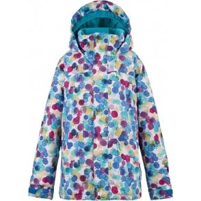 Girls Elodie Jacket - Rainbow Drops