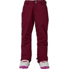 Burton Girls Sweetart Pants - Sangria