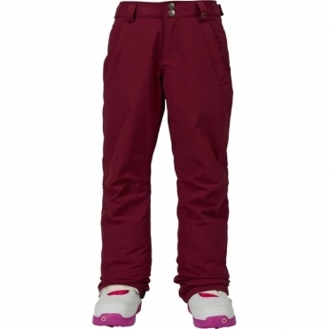 Girls Sweetart Pants - Sangria