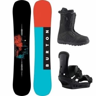 Burton Instigator Snowboard Package 155