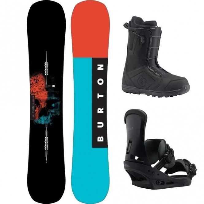 Burton Instigator Snowboard Package 155 Wide
