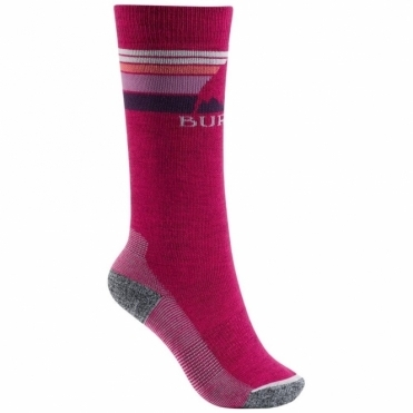 Burton Kids Emblem Socks - Sea Pink