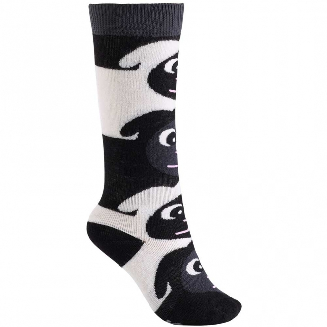 Burton Kids' Mini Shred Sock - Black Sheep
