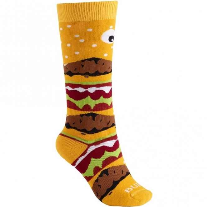 Burton Kids' Party Sock - Burger Deluxe
