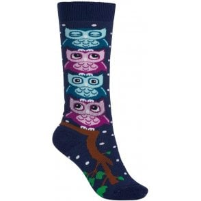 Burton Kids' Party Sock - Owls