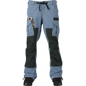 L.A.M.B Buju Cargo Pants - Chmbry/Army Green