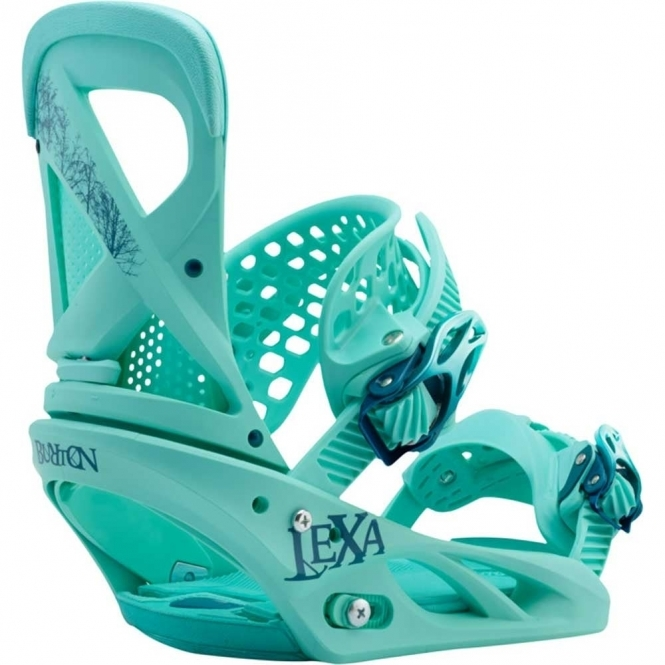 Burton Lexa Snowboard Bindings The Teal Deal 2017