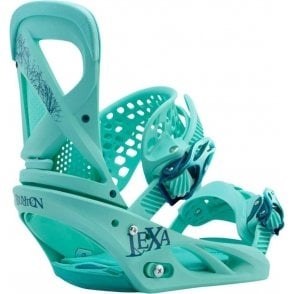 Lexa Snowboard Bindings The Teal Deal 2017