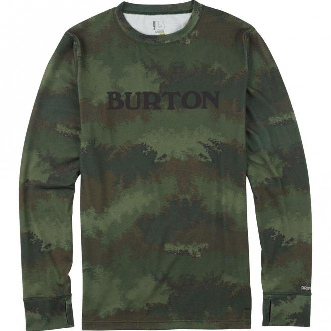 Burton Midweight Crew - Oil Camo